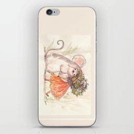 Thumbelina and the Mouse! iPhone Skin