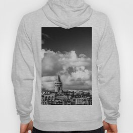 Istanbul: A Fusion of Black and White Hoody