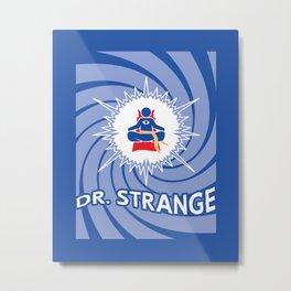 Dr. Oddball, MD Metal Print