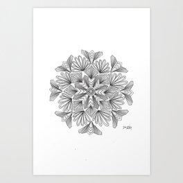 Passiflora incarnata Art Print