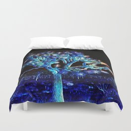 Joshua Tree VG Hues by CREYES Duvet Cover