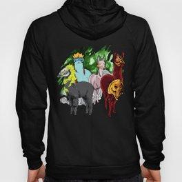Funny Halloween Llama 4 Horseman Alpaca Gift Alpacalypse product Hoody