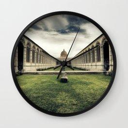 Monumental Cemetery of Pisa Wall Clock
