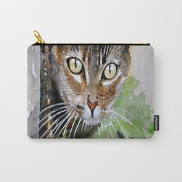 The Curious Tabby Cat Carry-All Pouch