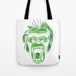 GORILLA KING KONG - Green Tote Bag