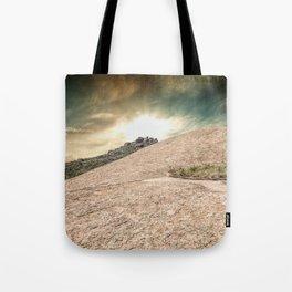 Mountain Big Rock Tote Bag