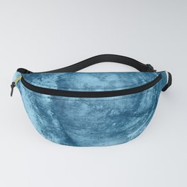 4 am thoughts: a minimal abstract acrylic piece in blue by Alyssa Hamilton Art Fanny Pack
