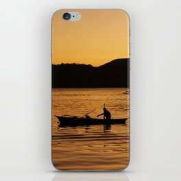 Tranquil Coron iPhone Skin
