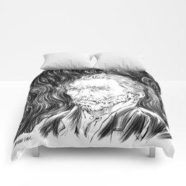 Van Gogh in black Comforters