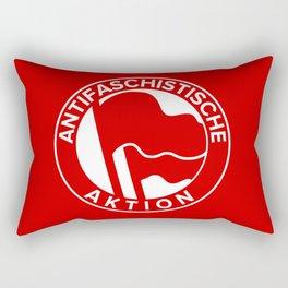 Anti-Fascist Flag Rectangular Pillow