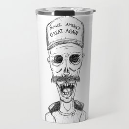 Make America Great Again, with zombies Travel Mug