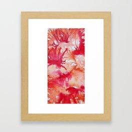 Sangria Splash Framed Art Print