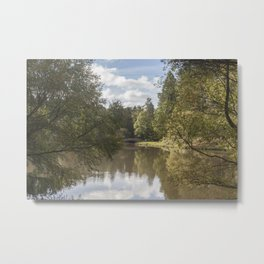 Early Autumn Reflections Metal Print