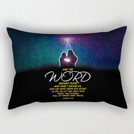 The Word Rectangular Pillow