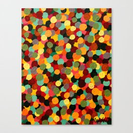 Dots on Dots on Dots Canvas Print