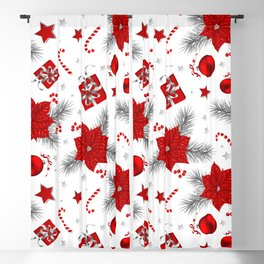 Christmas decoration pattern  Blackout Curtain