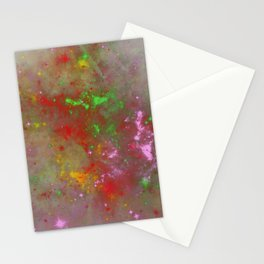 When Galaxies Meet Stationery Cards