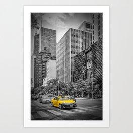 CHICAGO North Michigan Avenue Art Print