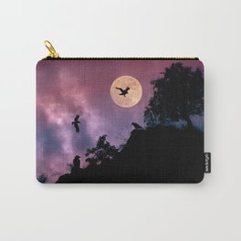 Crow meeting Carry-All Pouch