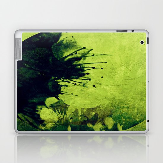 Circle of flowers II Laptop & iPad Skin
