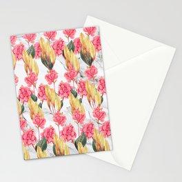 Tender Lines | Botanical Pattern Stationery Cards