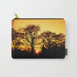 Tree with Sunset Carry-All Pouch
