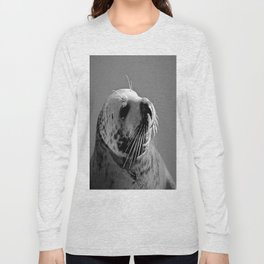 Howth Harbour Seal Long Sleeve T-shirt