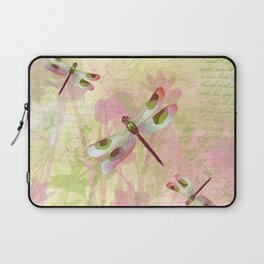 Pretty Dragonflies Laptop Sleeve
