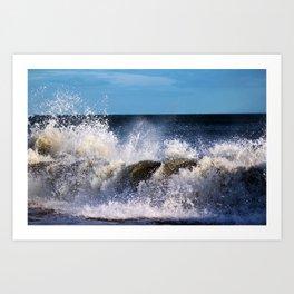 Monster Waves Art Print