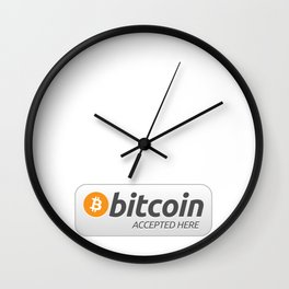 Accepted here: Bitcoin Wall Clock