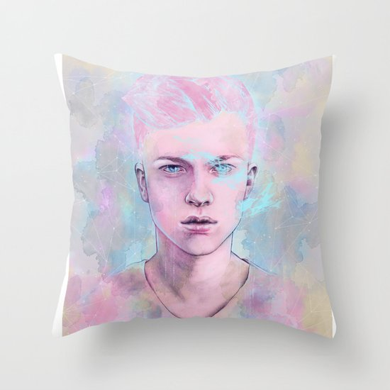 Astraeus Throw Pillow