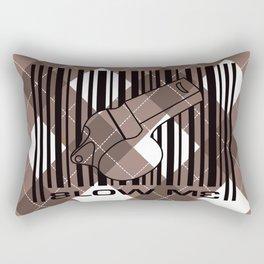 Blow me - a little ref love from lucy D Rectangular Pillow