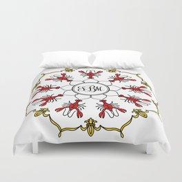 Personalized Crawfish Mandala Duvet Cover