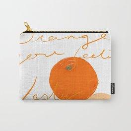 Orange you feeling zesty Carry-All Pouch