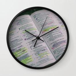 Psalms Wall Clock