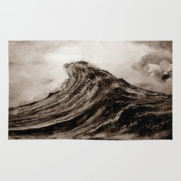 The WAVE - sepia Rug