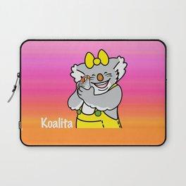 Koalita and the zebra finch Laptop Sleeve