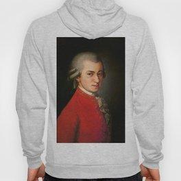 Wolfgang Amadeus Mozart (1756 -1791) by Barbara Krafft (1819) Hoody