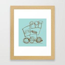 Ben's Monster Trucks no.1 Framed Art Print