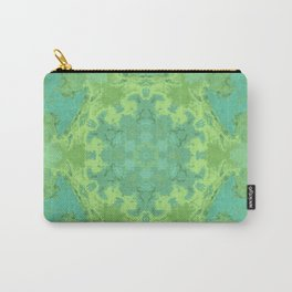 Verdant Mandala Carry-All Pouch