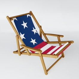 US Flag Sling Chair