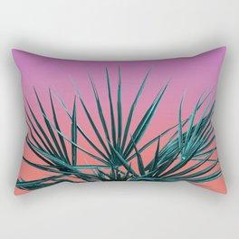 Pink Palm Life - Miami Vaporwave Rectangular Pillow