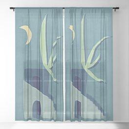 Moon House Sheer Curtain