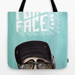 Poker Face 2 Tote Bag