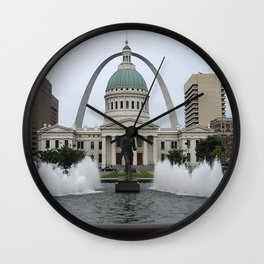 St. Louis arch Wall Clock
