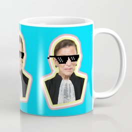 """The Notorious RBG Says """"Deal With It"""" Coffee Mug"""