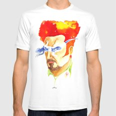 Tino Casal White Mens Fitted Tee MEDIUM