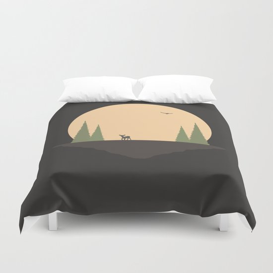 A Long Way From Home, Little One Duvet Cover