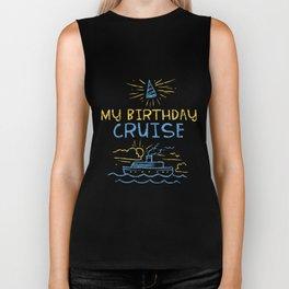 CRUISES: My Birthday Cruise Biker Tank