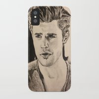 wesley bird iPhone & iPod Cases featuring Paul Wesley by vanessa
